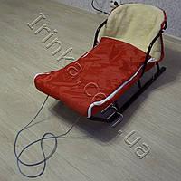 Меховой конверт в санки Лео (98*48), фото 1