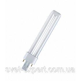 Лампа PHILIPS PL-С G24d-1/2Р 13W/840 люмінесцентна