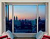 Тройное окно металлопластиковое KBE 2100х1500