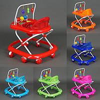 Детские ходунки  с подвесными игрушками 922
