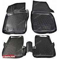 Полиуретановый автомобильный 3D коврик для Ford Focus III 2011-