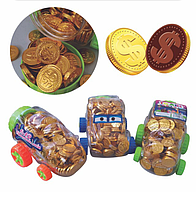 Монеты шоколадные (2,7гр) 1/200шт