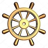 Рулевые колеса лодочные, штурвалы