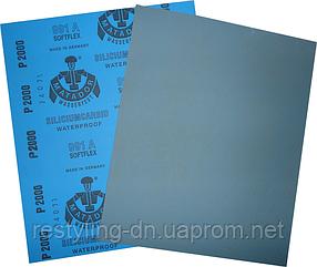 Наждачная бумага водостойкая MATADOR 991 P1500, 1шт