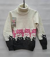 Детский свитер для девочек 122,128,134 роста Tossy kids