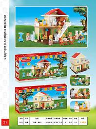 Лялькові будиночки, меблі, аксесуари