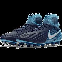 Футбольные бутсы Nike magista obra ІІ FG 844595-414 70a787f6c0def