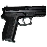 Пневматический пистолет KWC Sig sauer KM47 с запасным магазином
