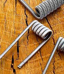 Parallel clapton coil