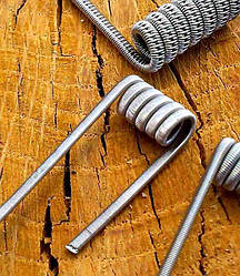 Parallel twisted clapton coil