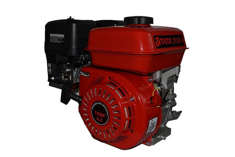 Двигатель TATA 168F (бензин, 6.5 л.с, шлицы, 20 мм)