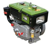 Двигатель ZUBR SH190NL (дизель, водяное охлаждение, 10 л.с.)
