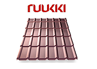 Металлочерепица Ruukki/Руукки, Decorrey Grand / Декоррей Гранд , Purex/ Пурекс, Quality class 40