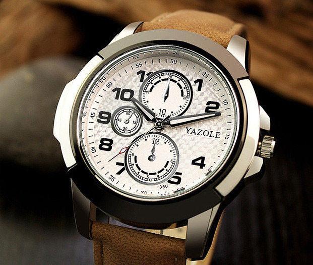 Мужские часы Yazole , цена 350 грн., купить в Киеве — Prom.ua (ID ... 8bdf6a52909