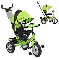 Велосипед детский трехколесный Turbo Trike M 3115-4HA зеленый