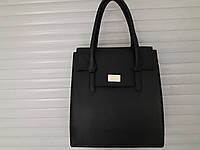 Удобная статусная сумка женская  деловая черная искусственная кожа низкая цена