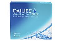 Focus dailies aqua 90 однодневные контактные линзы