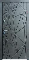 Входные двери Бастион-БЦ Лира Венге горизонт серый Эскада 9