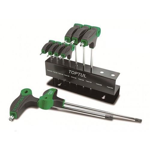 Набор шестигранников с ручкой L-обр. 2-10 мм 8 ед. GAAX0801 TOPTUL
