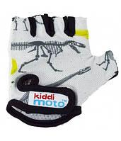 Перчатки детские Kiddimoto Fossil, размер М на возраст 4-7 лет