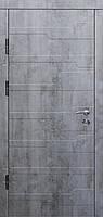 Входные двери Бастион-БЦ Монолит Бетон пепельный Волна 6