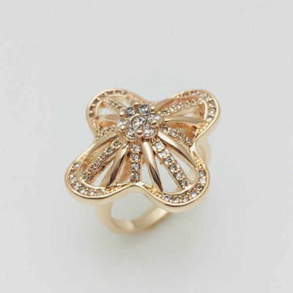 Перстень женский Fallon Сказка, размер 17, 18 ювелирная бижутерия
