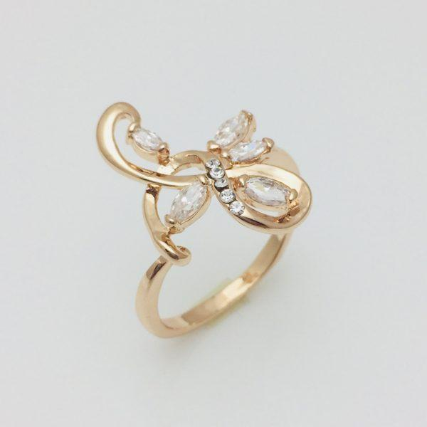 Кольцо Fallon в камнях, размер 16, 17, 18, 19 ювелирная бижутерия