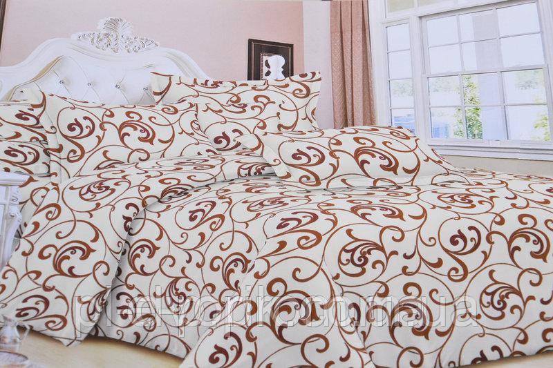 Евро комплект постельного белья с красивым рисунком Размер : ― Пододеяльник ( 200 см х 220 см ) ― Простынь ( 2