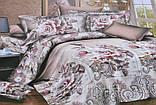 Евро комплект постельного белья с красивым рисунком Размер : ― Пододеяльник ( 200 см х 220 см ) ― Простынь ( 2, фото 8