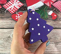 Новогодняя деревянная игрушка « Елочка» Hand Made
