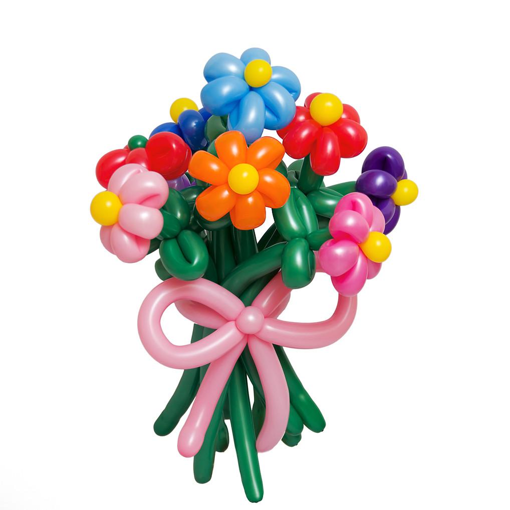 """Букет цветов из воздушных шаров """"Ромашки"""""""