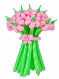 """Букет цветов из воздушных шаров """"Ромашки"""", фото 3"""