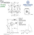 Компрессор спиральный YH150T1G-100 Invotech, фото 2