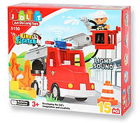"Конструктор JDLT 5150 ""Пожарная машина"" (аналог Lego Duplo)"