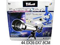 Детский набор 2в1 телескоп и микроскоп