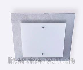 40140 Міраж НББ 2х60 Вт, Е27, 400мм серебро, фото 2