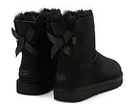 UGG Mini Bailey Bow Black, фото 1