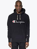 Champion - Чёрная худи | Бирка оригинал
