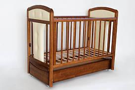 Детская кроватка Laska-М «Birichino Vera» export тонированный орех КР-01.VER-01