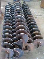 Шнек 90 мм под 110 мм толщина спирали 6 мм шаг 50