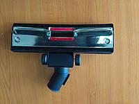 Щетка пылесоса универсальная, 32 мм, колеса, метал. черн.