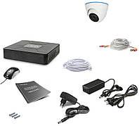 Комплект видеонаблюдения Tecsar 1OUT DOME