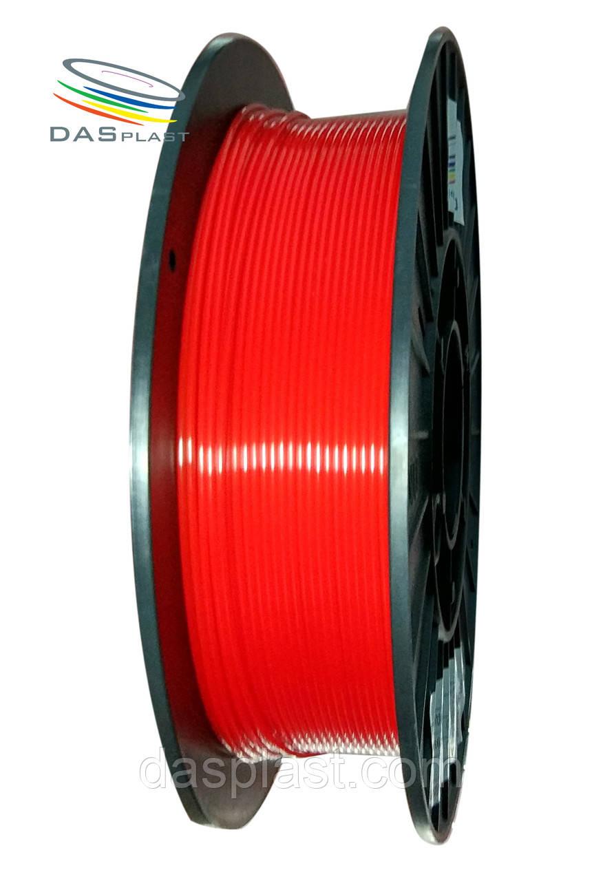 PLA пластик 500 г, красный  1.75 мм,