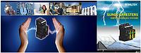 Захист устаткування в мережі живлення змінного та постійного струму до 1000 В. Захист фотоелектричних станцій від імпульсних перенапруг