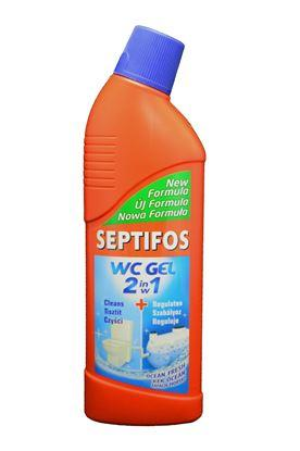 Гель для туалетів 2 в 1 SEPTIFOS ws gel 2 in1