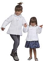 """Болеро - шубейка для девочки из меха М-1079 рост 92 98 104  тм """"Попелюшка"""""""