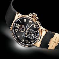 Часы Ulysse Nardin Chronometer, механические, мужские