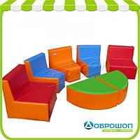 Мягкая игровая мебель - Комплект уголок KIDIGO™