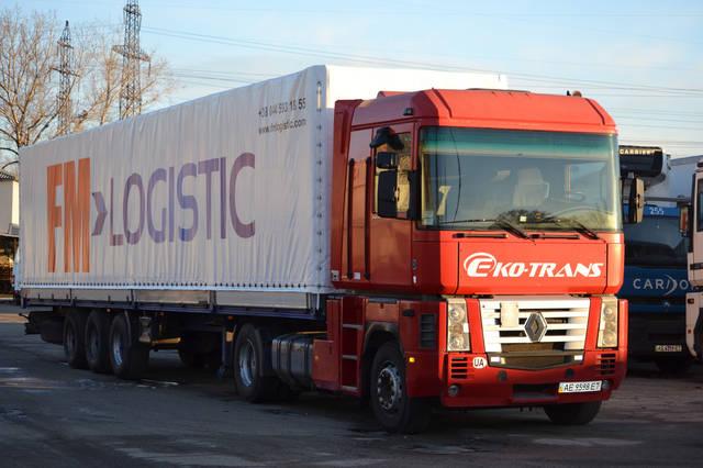 Оклейка фур Fm Logistic 1
