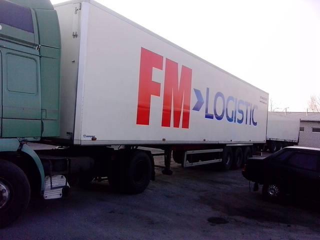 Оклейка фур Fm Logistic 2
